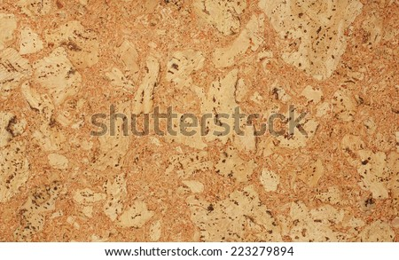Cork texture. Cork background. Closeup - stock photo