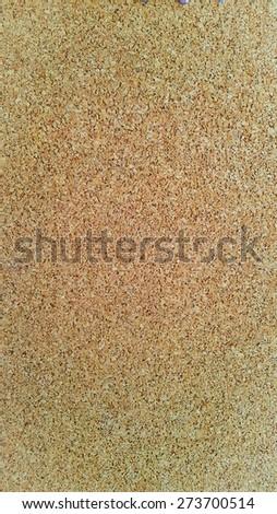 Corkboard Empty bulletin board background - stock photo