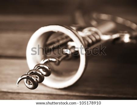 Corkscrew - stock photo