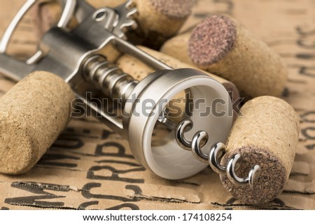 Corkscrew - stock photo