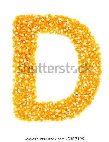 Corn D - stock photo