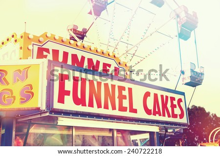 Corn dog stand - stock photo