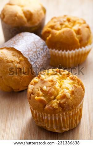 Corn muffins  - stock photo