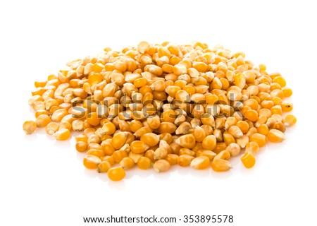 Corn of popcorn - stock photo