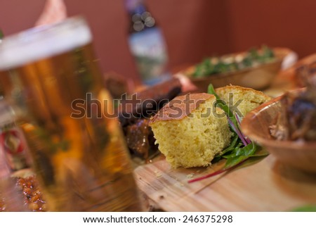 Cornbread - stock photo