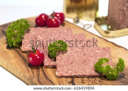 Corned Beef On Wood