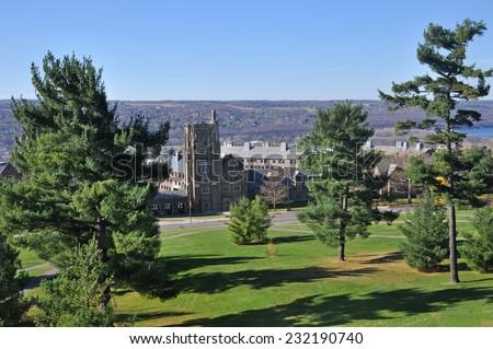 Cornell University - stock photo
