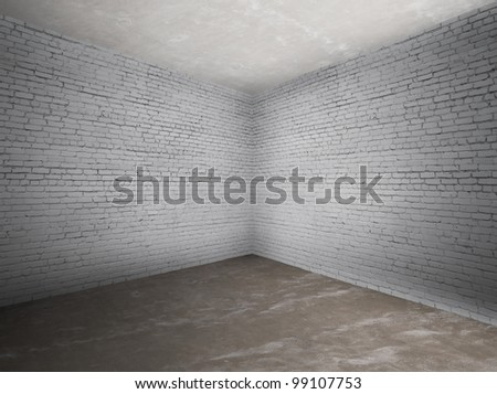 how to clean dirty interior brick wall