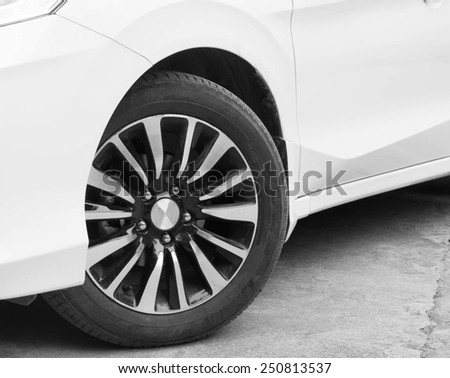 Cornering automobile tires