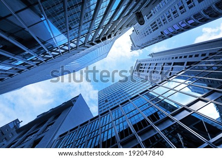 Corporate building - stock photo