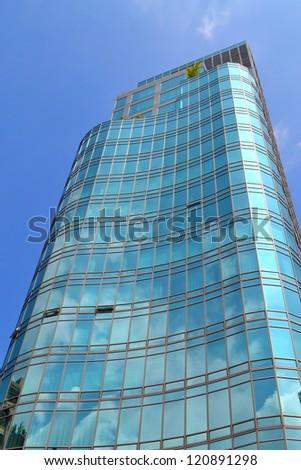 Corporate Building Facade - stock photo