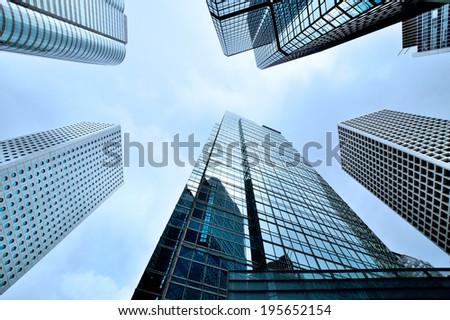 Corporate Buildings  - stock photo