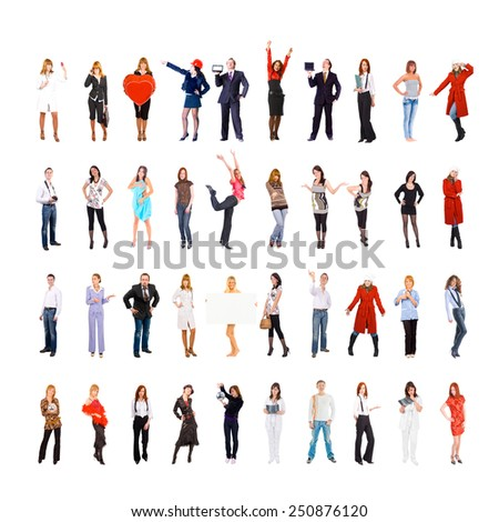 Corporate Culture People Diversity  - stock photo