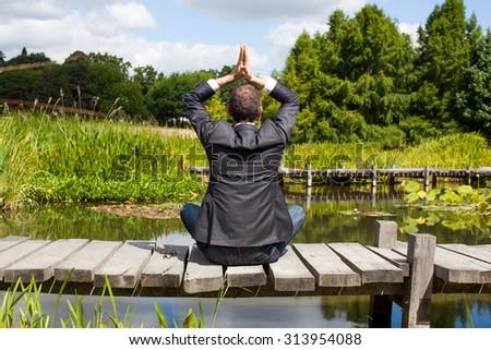 Beautiful girl park near fountain stock photo 59804170 for Pond companies near me