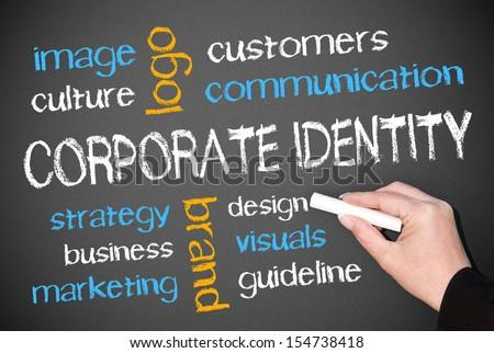 Corporate Identity - stock photo