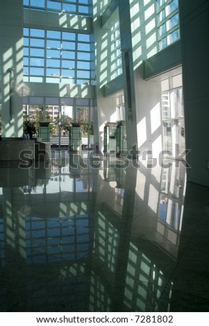 Corporate reflections - stock photo