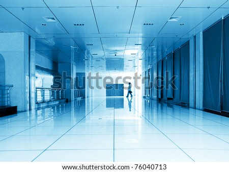 corridors, very sense of perspective.