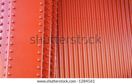 Corrugate Wall - stock photo