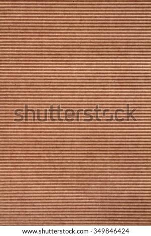 Corrugated cardboard as background - stock photo