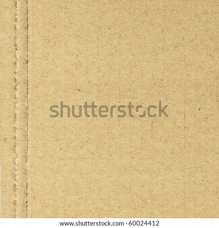 Corrugated cardboard as background - stock photo