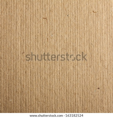 Corrugated Cardboard Texture