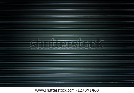 Corrugated Metal for background - stock photo