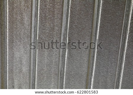 Corrugated Metal Roof Texture Background Stock Photo ...
