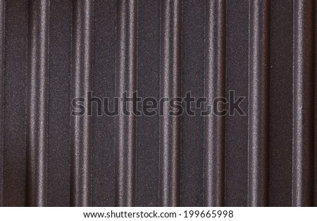 Corrugated Surface Metal Texture In Closeup As Background