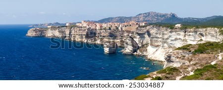 Corse - Corsica, France: Image of the country of Bonifacio.