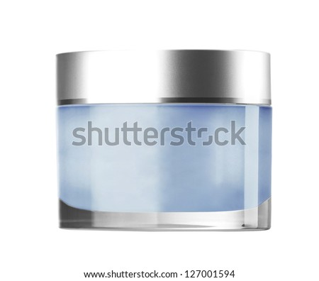 Cosmetic cream isolated on white background