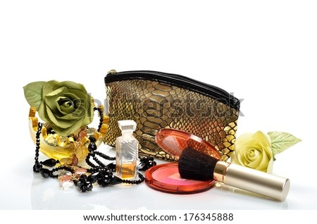 Cosmetic means, fragrances and jewelry