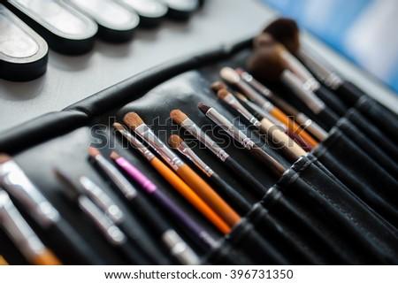 Cosmetic pencils - stock photo