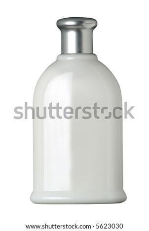 cosmetic plastic bottle - stock photo