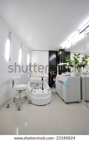 cosmetic salon - stock photo