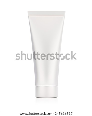 cosmetic tube for cream, paint, gel 3d render