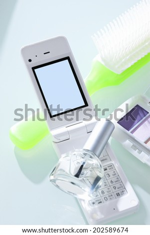 Cosmetics And Mobile Phone