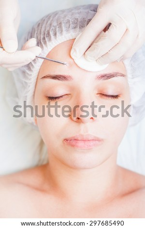 Stock images royalty free images vectors shutterstock for Acne salon treatments