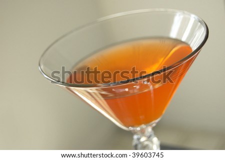 Cosmopolitan Martini - stock photo