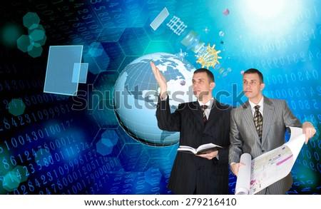 Cosmos technology - stock photo