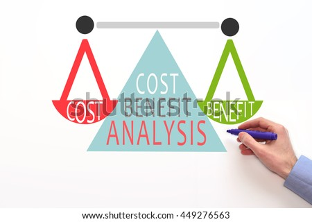 Cost Benefit Analysis Stock Images RoyaltyFree Images  Vectors