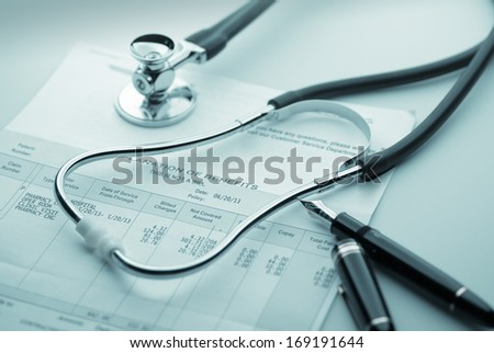 Cost of health care  - stock photo