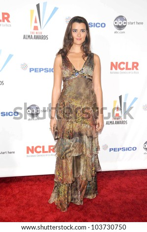 Cote de Pablo at the 2009 ALMA Awards. Royce Hall UCLA, Westwood, CA. 09-17-09