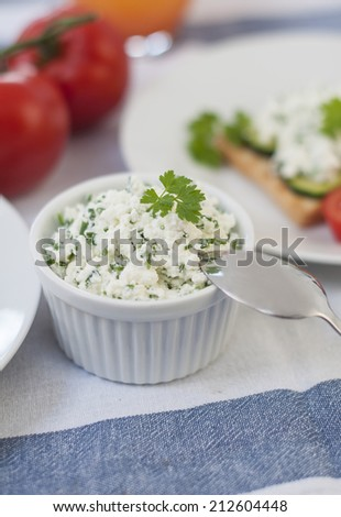 cottage cheese breakfast