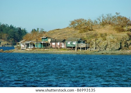 Cottages on an Island