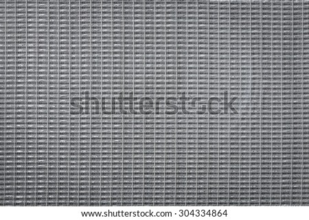 Cotton speaker cover background texture closeup - stock photo