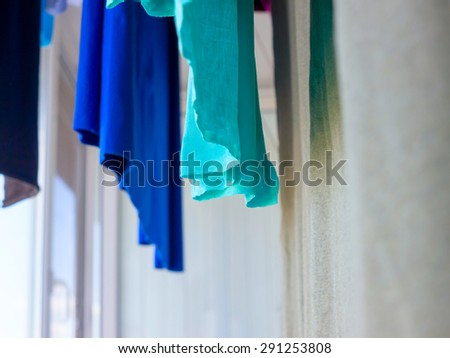 Cotton texture. - stock photo