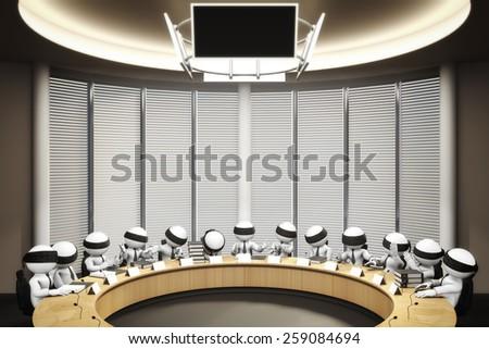 council - stock photo
