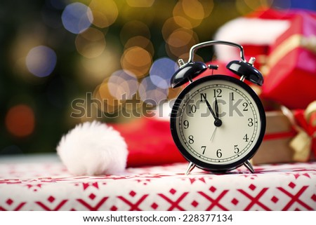 Countdown to the New Year  - stock photo