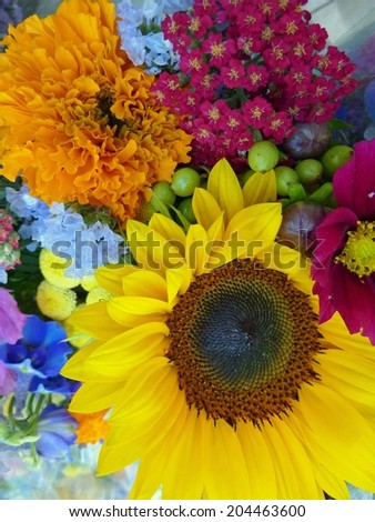 Country bouquets