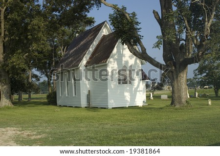 Country Church - stock photo